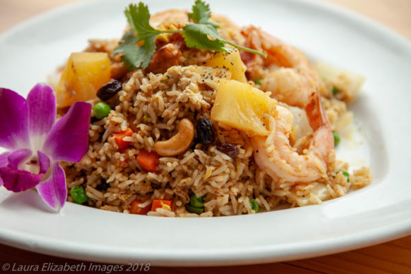 A photo of Pineapple Fried Rice from Sunee Thai & Lao Kitchen in Portland, Oregon.