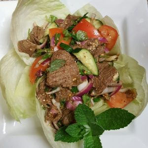 A photo of Beef Salad from Sunee Thai & Lao Kitchen in Portland, Oregon.