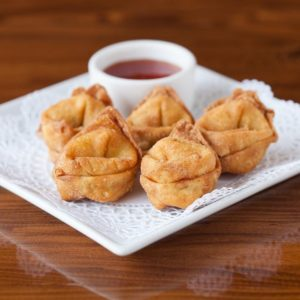 A photo of Cream Cheese Puffs from Sunee Thai & Lao Kitchen in Portland, Oregon.
