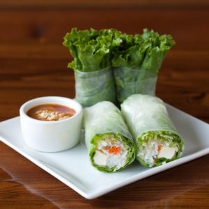 A photo of Fresh Salad Rolls from Sunee Thai & Lao Kitchen in Portland, Oregon.