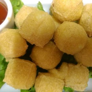 A photo of Fried Tofu from Sunee Thai & Lao Kitchen in Portland, Oregon.