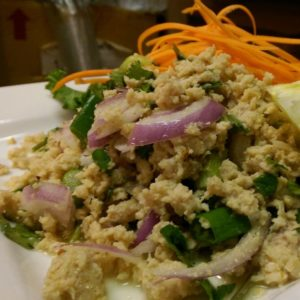 A photo of Larb Gai Salad from Sunee Thai & Lao Kitchen in Portland, Oregon.