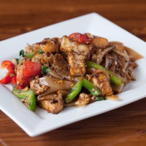 A photo of Pad Kee Mao from Sunee Thai & Lao Kitchen in Portland, Oregon.
