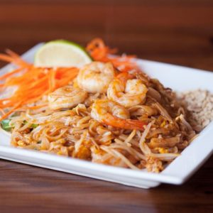 A photo of Pad Thai With Shrimp from Sunee Thai & Lao Kitchen in Portland, Oregon.