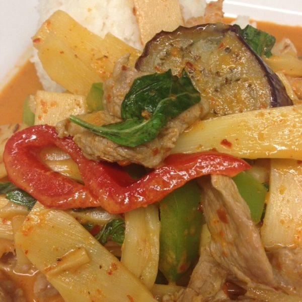 A photo of Red Curry from Sunee Thai & Lao Kitchen in Portland, Oregon.